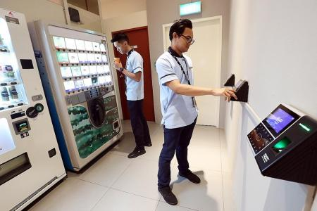 Place to chill out for Suntec City's outsourced workers