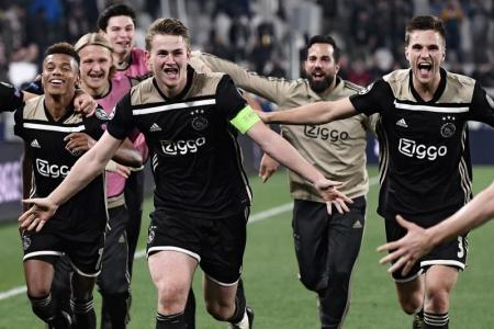 Ajax knock out Juventus to reach Champions League semis
