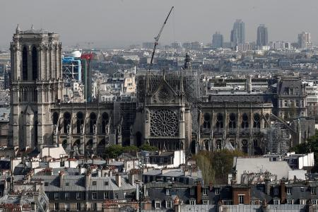 Notre-Dame to be reconstructed in five years: Macron