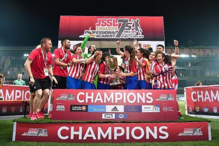 Atletico Madrid win inaugural JSSL girls' tournament