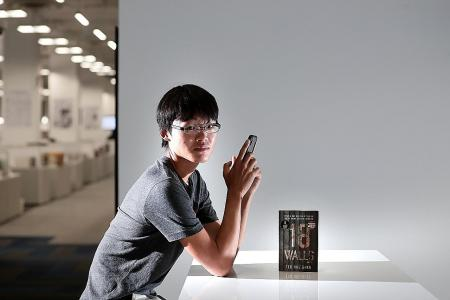 He penned first novel on his handphone during NS