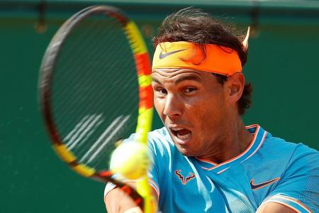 Self-searching for Nadal in Barcelona, after Monte Carlo loss