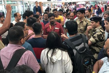 Scoot passengers stranded overnight at Bengaluru airport in India