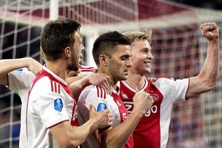 Dusan Tadic's magic sends Ajax closer to Dutch league title