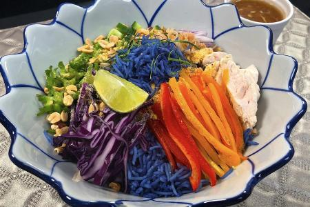 Add colour to your meals with a rainbow grain bowl