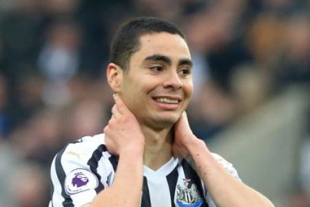 Newcastle United's Almiron out for the season