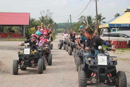 Splashing good family fun awaits at Desaru Coast