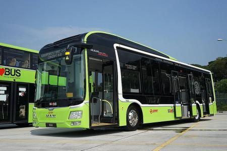 LTA buys 100 three-door buses for $64 million