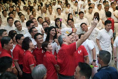 Heng renews pledge with workers