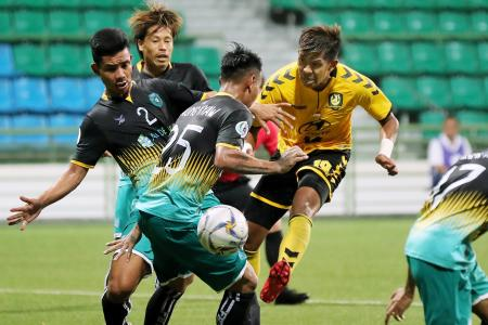 Irwan Shah to Tampines' rescue after Yangon nullify Amri's hat-trick