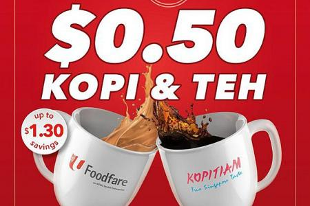 Confusion over 50-cent teh deal at Foodfare