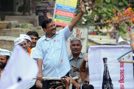Delhi leader defies attacks on him to step up election fight