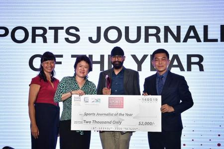 TNP's Dilenjit Singh named Sports Journalist of the Year