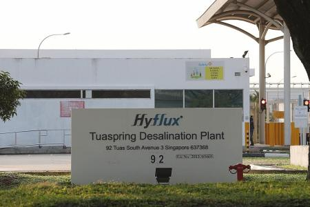 Hyflux set to lose Tuaspring Integrated Water and Power Plant