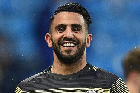 Riyad Mahrez keen to stay at Man City despite limited playing time