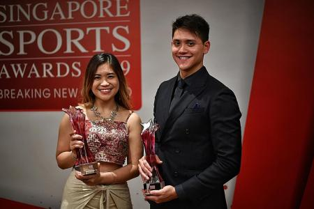 Joseph Schooling bags sixth Sportsman of the Year award