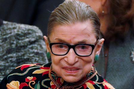 Ruth Bader Ginsburg nominated for MTV awards