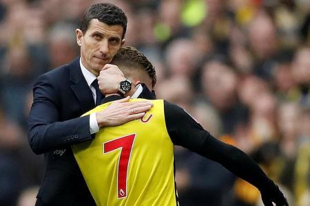 Javi Gracia stands in Pep Guardiola's way