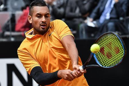 Nick Kyrgios hurls chair, storms off during Italian Open