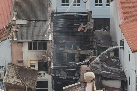 No injuries as fire breaks out at Little India shophouse
