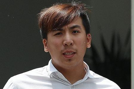 Six men charged with abusing public servants