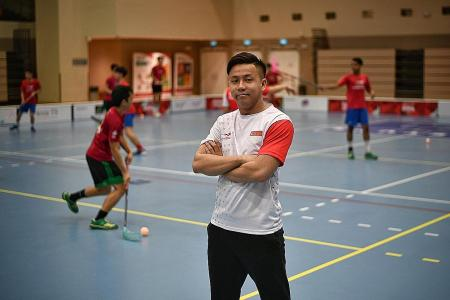 Age no issue as Lim Jin Quan, 26, is named national floorball coach