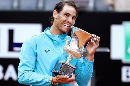 Rafael Nadal peaks in time for French Open