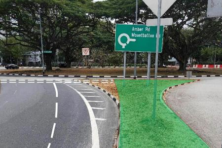 New moves to boost safety at Marine Parade roundabout where woman died