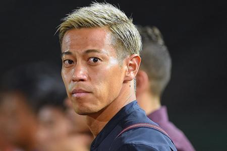 Keisuke Honda quits Melbourne Victory