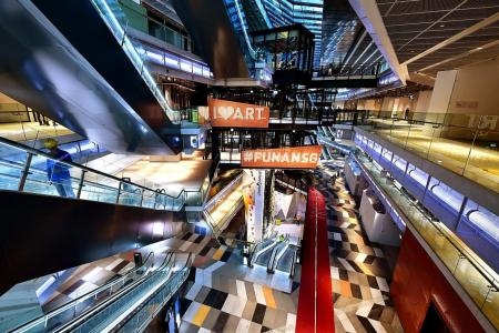 Cycle through revamped Funan mall