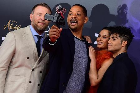 Will Smith says son inspired him to pick genie role