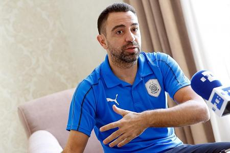 Managing Barcelona is Xavi Hernandez's dream