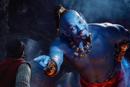 Will Smith says son inspired him to pick Aladdin genie role
