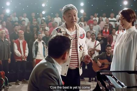 27 artists to sing NDP theme song