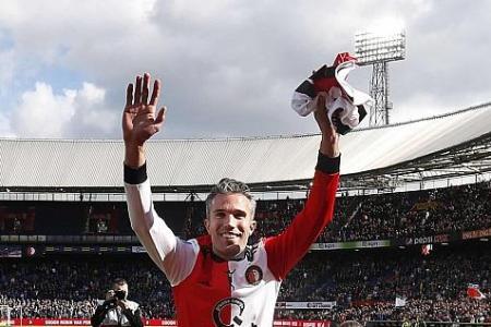 Keep faith with Ole Gunnar Solskjaer, urges Robin van Persie