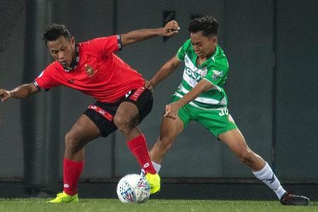 Geylang midfielder Azri Suhaili, 16, is third youngest to play in SPL