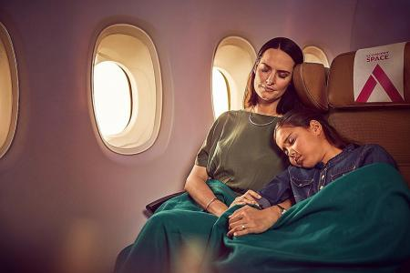 Expect luxurious, hotel-like comfort in the air from Etihad Airways