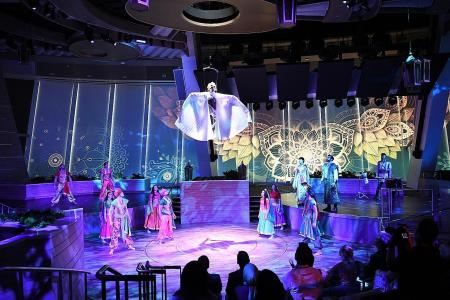 Supersized entertainment at sea