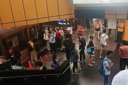 Power faults hit North-South, Circle lines