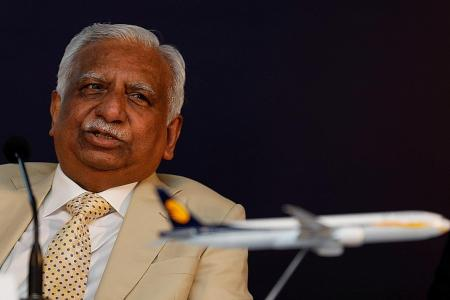 Jet Airways founder, wife stopped from leaving India at airport