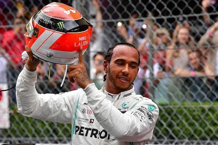 Lewis Hamilton wins Monaco Grand Prix in spirit of Niki Lauda