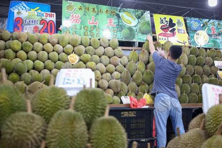 Durian prices plunge while quality surges