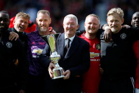 Old Trafford turns back the clock