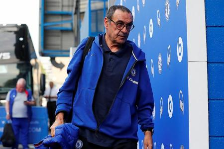 Angry Sarri storms out of Chelsea training before Europa League final