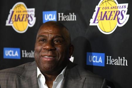 Magic Johnson denies mistreating Lakers employees