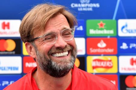 Klopp laughs off 'unlucky' tag