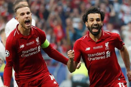 Liverpool sink Spurs to seal Champions League title
