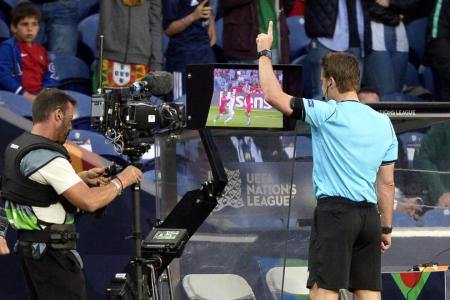 Portugal penalty becomes Swiss penalty after VAR intervention
