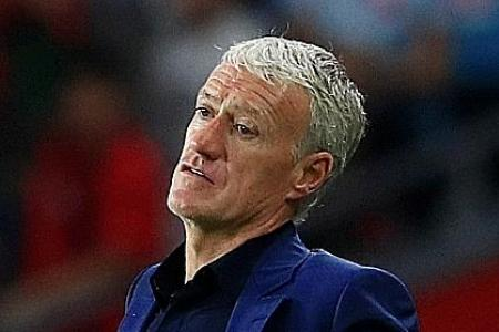Loss to Turkey 'a slap in the face', says France boss Didier Deschamps