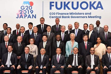 G-20 finance leaders say trade, geopolitical tensions have intensified